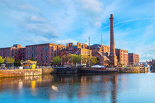 Royal Albert Dock In Liverpool, UK