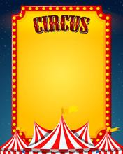 A Blank Circus Border