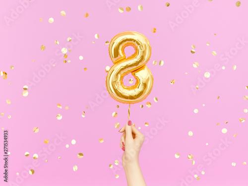 Fotografía Eight year birthday