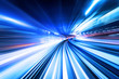 Leinwanddruck Bild - high speed abstract background