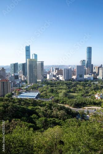 Keuken foto achterwand Kangoeroe China Dalian city landscape