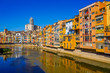 Girona, beautiful city of Catalonia ,Spain called the little Florence
