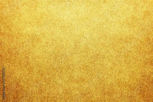 Fototapeta ゴールド グリッター ビンテージ テクスチャ 背景 obraz
