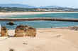 canvas print picture - Strand in Lagos, Portugal