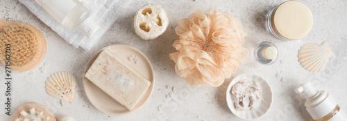 Bath Accessories Fototapeta