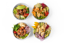 Poke Bowls - Traditional Hawai...
