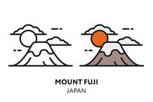 Mount Fuji Japan Landmark Sigh...