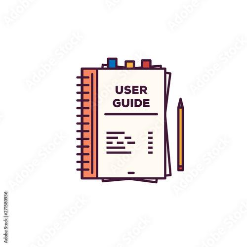 User guide book Poster Mural XXL