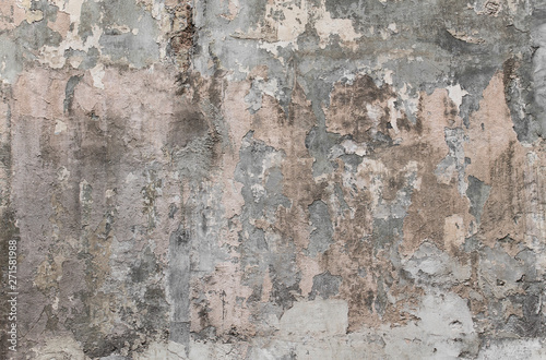 Poster Vieux mur texturé sale Dirty texture. Old Texture. Background old concrete wall texture.