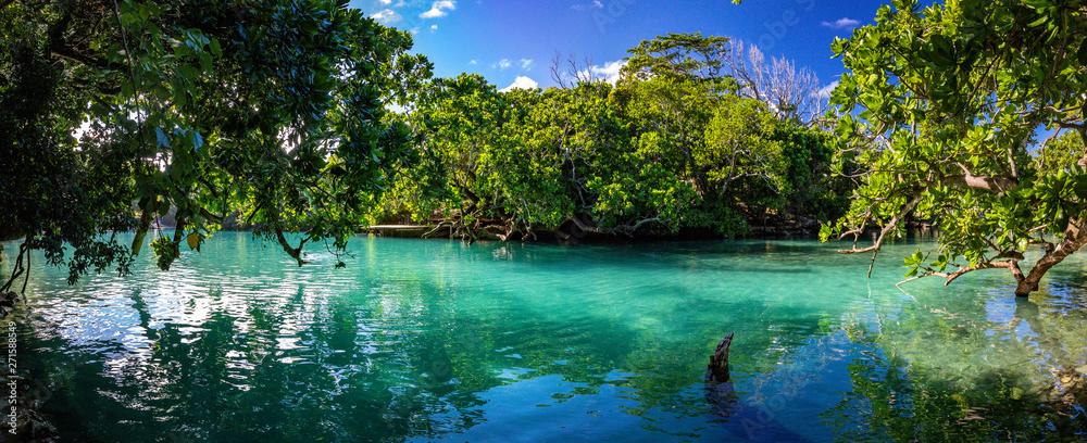 Fototapeta The Blue Lagoon, Port Vila, Efate, Vanuatu