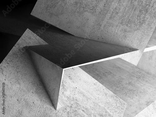 Obraz na płótnie Abstrakcjonistyczny tło, beton 3d
