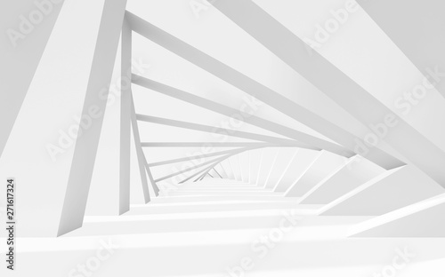 abstract-white-twisted-3d-tunnel