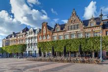 Houses On Grote Markt, Haarlem...