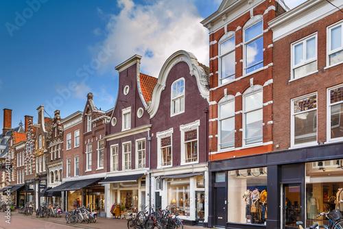 Obraz na plátne Street in Haarlem, Netherlands