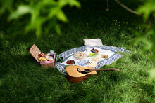 Healthy Picnic Snacks And A Gu...