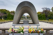 Japan, Hiroshima Peace Memorial In Hiroshima