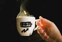 Coffee Cup Measuring Energy Le...