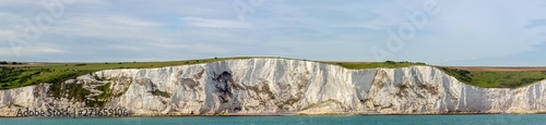 Fotomural White cliffs of England in Dover, United Kingdom