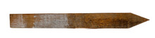 Isolated Wood Survey Stake Wit...