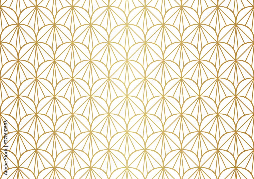 Fototapety, obrazy: Seamless Art Deco Pattern. Vintage geometric minimalistic background. Abstract Luxury Illustration.