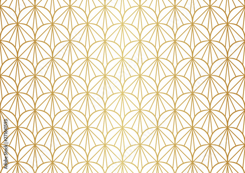 Photo  Seamless Art Deco Pattern