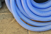 The Blue Soaking-up Hose