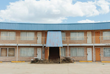 Abandoned Motel Building With ...