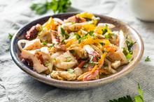 Homemade Cold Seafood Salad