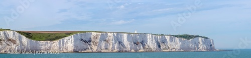 White cliffs of England in Dover, United Kingdom Wallpaper Mural