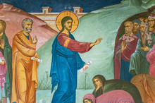 Mural Painting Of Preaching Je...