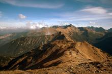 Tatry Czerwone Wierchy, Góry