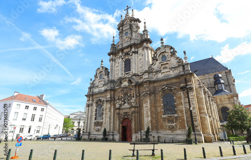 Photo Church of St. Jean Baptiste au Beguinage in Brussels, Belgium