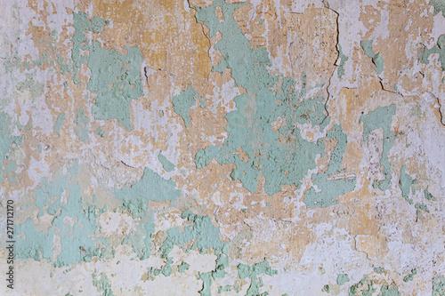 Foto auf AluDibond Alte schmutzig texturierte wand Old Weathered Concrete Wall Texture