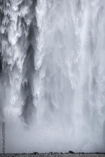Skogafoss waterfall in Iceland Wall mural
