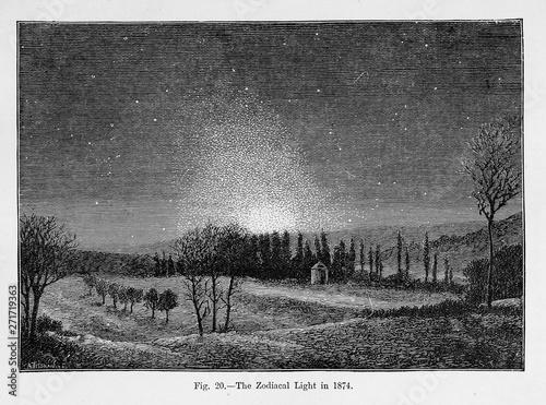 Canvas Astronomical illustration