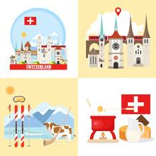 Switzerland Backgrounds Collec...