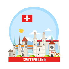 Switzerland Travel Landmarks B...