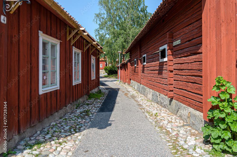 Street in the older part of Strängnäs.