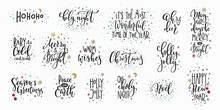 Christmas New Year Lettering T...