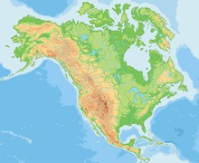 High Detailed North America Ph...