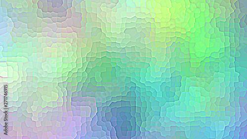 Colorful gradient green design Canvas Print
