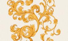 Baroque Renaissance Monogram F...