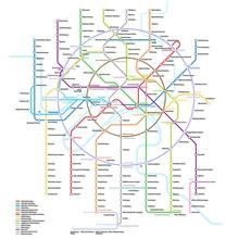 Moscow Metro Map | Vector Deta...