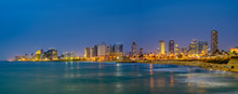 Sunset  View Of Of Tel Aviv Co...