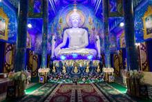 Statue Of Buddha Inside Wat Ro...