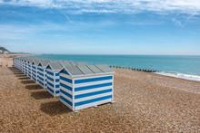 Hastings Beach In Sussex England