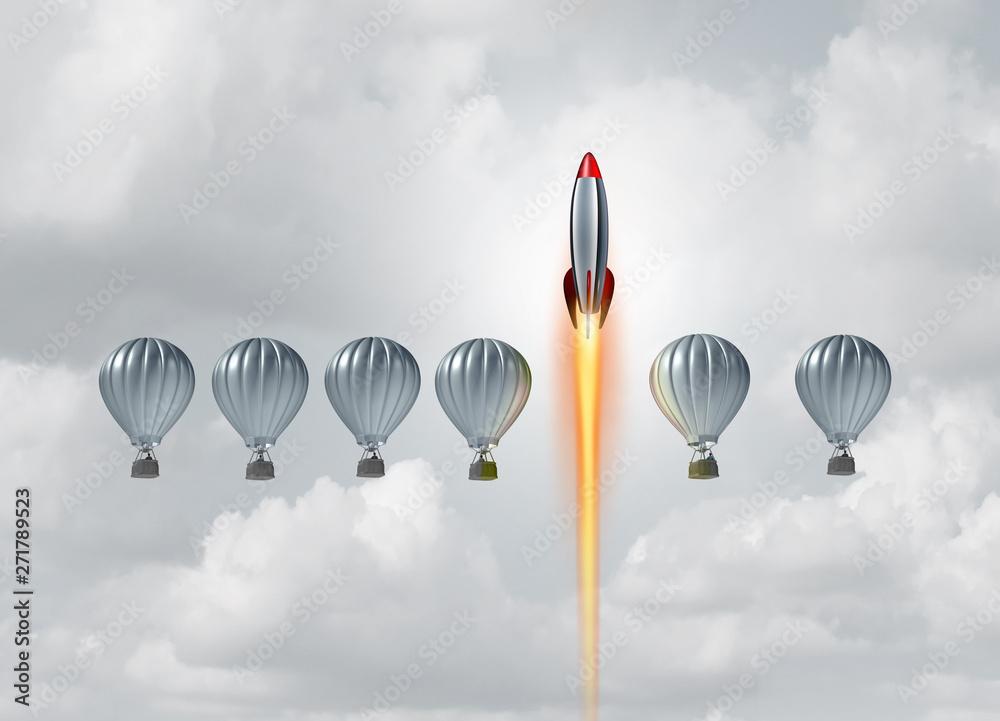Fototapeta Business Concept Of Success