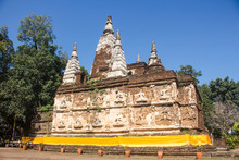 Full View Of The Maha Chedi Of...