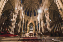 Interior Of Saint Patrick's Ca...