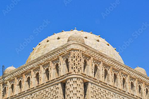 Fototapeta The Samanid mausoleum is located in the historical urban nucleus of the city of Bukhara, Uzbekistan